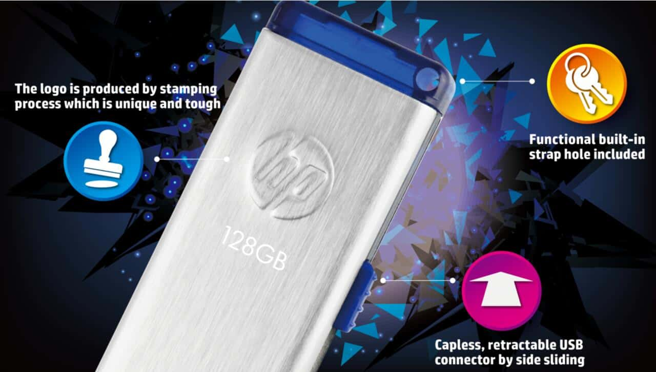 HP x730w 64 GB USB 3.0 Pendrive