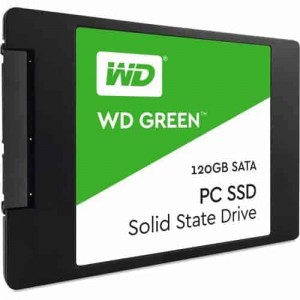 WD 120GB Green SATA III 2.5″ Internal SSD