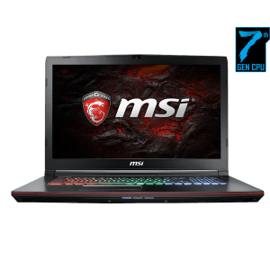 MSI Gaming Laptop Apache Pro GE72MVR 7RG (i7, GTX 1070, 8GB GDDR5)