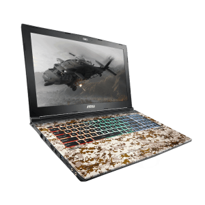 MSI Gaming Laptop GE62 7RE Apache Pro Camo Squad