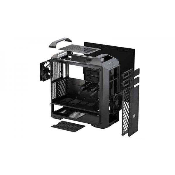 Cooler Master, Full Tower Case, PC, Cabinet, The Ultra Tower, COSMOS, Gaming, Chassis, The Ultra Tower, Curved Tempered Glass, A Legacy of Aluminum, A Touch of Premium, Blue LED Ambient Lighthing, Streamlined Airflow, MasterCase, Pro