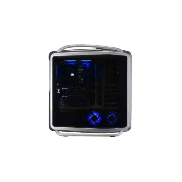 Cooler Master, Full Tower Case, PC, Cabinet, The Ultra Tower, COSMOS, Gaming, Chassis, The Ultra Tower, Curved Tempered Glass, A Legacy of Aluminum, A Touch of Premium, Blue LED Ambient Lighthing, Streamlined Airflow
