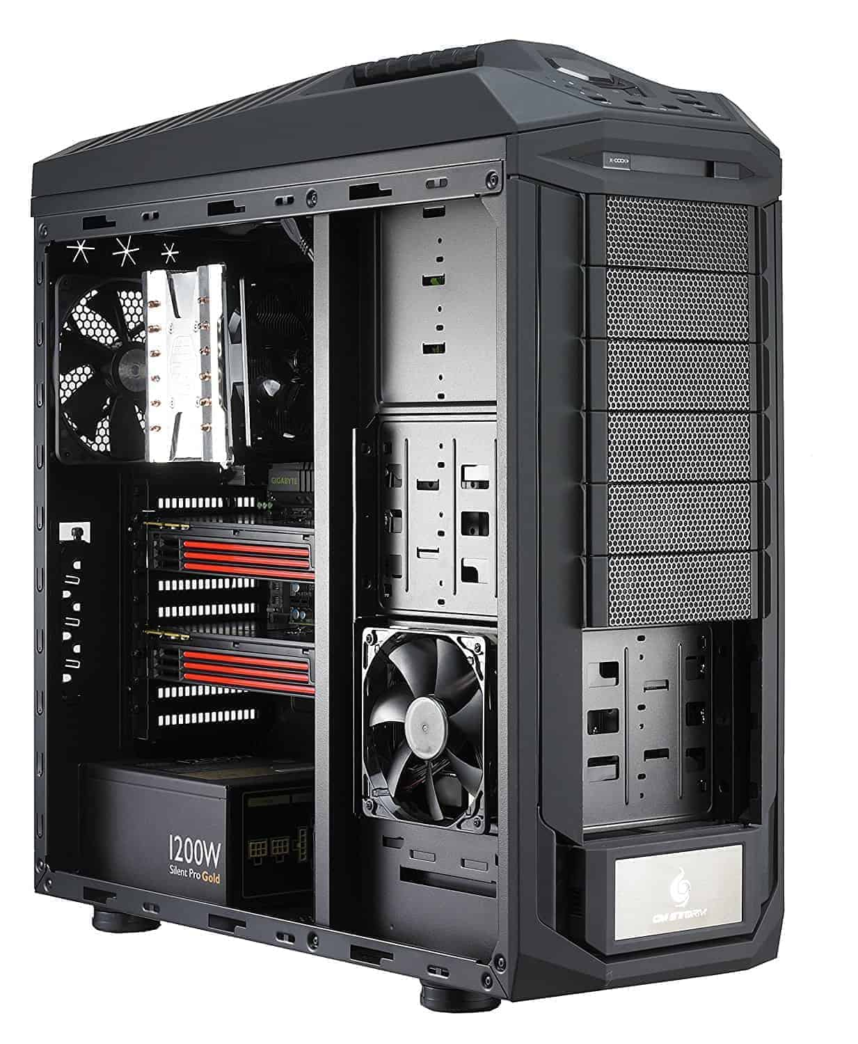 Cooler Master, Full Tower Case, PC, Cabinet, The Ultra Tower, COSMOS