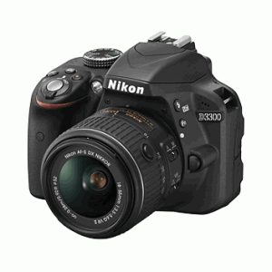 Nikon D3300 DSLR Camera – Lens (18-55mm)(70-300mm)Includes 16GB (Class 10) SD CARD + Carry Case + Wireless Mobile Adapter WU-1A