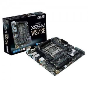Asus X99-M WS/SE X99 micro-ATX with USB 3.1 on board