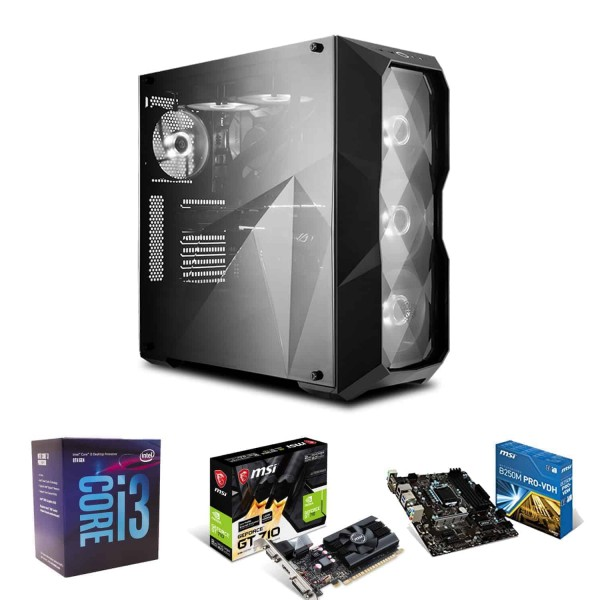 i3 Full PC Pro Package – Video Mixing Editing PC (Assembled PC), Kartmy