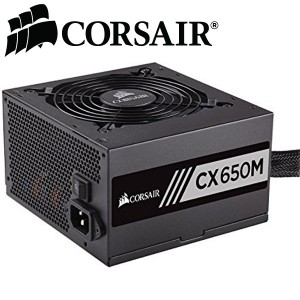 CORSAIR CXM series CX650M 650W 80 PLUS BRONZE Haswell Ready ATX12V & EPS12V Modular Power Supply