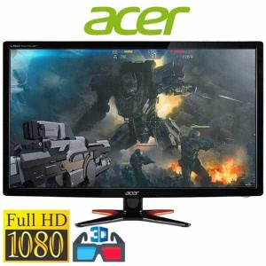 Acer GN246HL Bbid 24-Inch 3D Gaming Display (144Hz Refresh Rate) 3D, Monitor, HDMI