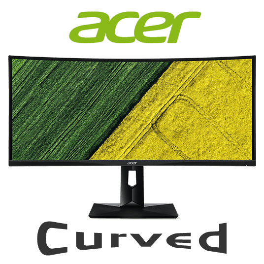 "Acer CZ340CK 34"" Curved UltraWide QHD IPS LED Display Monitor"
