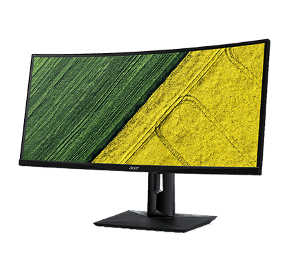 "Acer CZ340CK 34"" Curved UltraWide QHD IPS LED Display Monitor, Full HD"