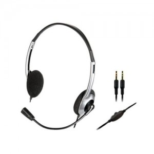 Creative Hs-320 On-Ear Headphone with Mic, Kartmy