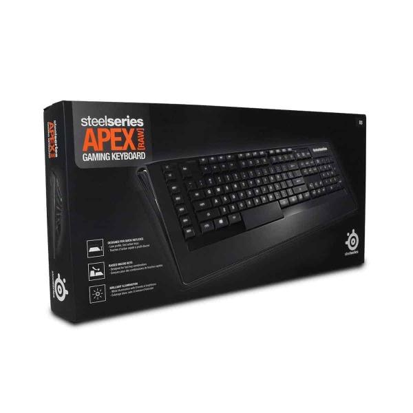 Steelseries Apex (RAW) Gaming Keyboard, Kartmy