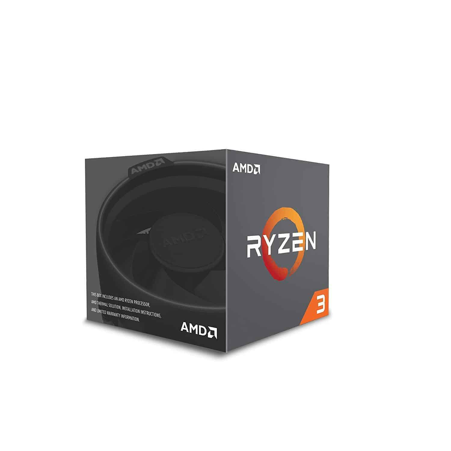 AMD Ryzen 3 1200 Desktop Processor with Wraith Stealth Cooler, Kartmy