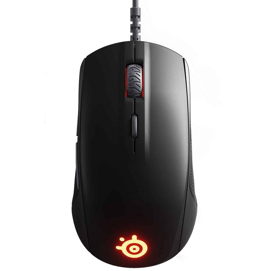 SteelSeries Rival 110 Matte Black Mouse (62466), Kartmy