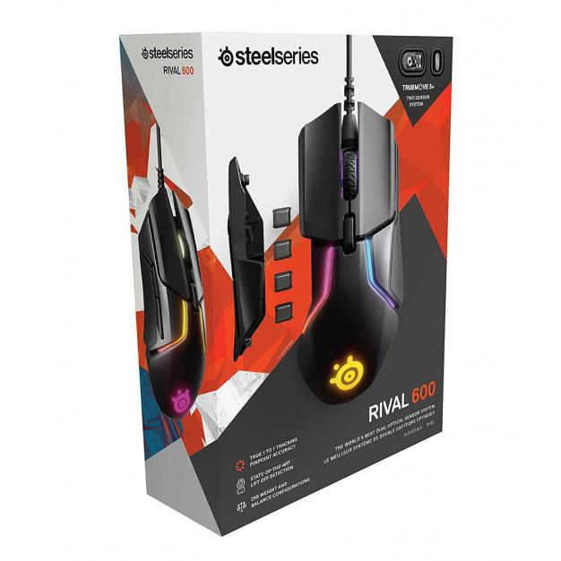 SteelSeries Rival 600 Gaming Mouse, Kartmy