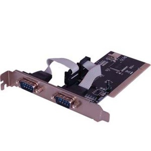 PCI 2 Port Serial Card ENTER E-2S, Enter - Add On Card, Buy Enter E-2S PCI To 2 Serial ( RS-232 ) Port Cards online at low price in India on Amazon.in. Check out Enter E-2S PCI To 2 Serial ( RS-232 ) Port Cards reviews, ratings, features, specifications and more, Brif. PCI-Express 2x Dual RS-232 Serial Port Card, Moschip Chipset. Features. MOSCHIP NM9835 Chipset; 1-Lane (x1) PCI-Express with transfer rate 2.5Gb/s full duplex channel; 2-Serial ports and 1-Parallel port; Compliant with PCI-Express Revision 1.0a; Fully Plug & Play compatible. Specification. Serial (RS-232)Serial Card family with RS232, RS422, RS485 interfaces to support PCI, PCI-X, PCI Express, PCIe slots - add serial ports to PC or servers. ... 1, 2 or 4 port serial card; RS232 interfaces; DB9, DB25 and RJ45 connectors; Universal PCI / PCI-X slot support; Low profile md1 and standard fit; 15Kv ESD protection; Windows, ...