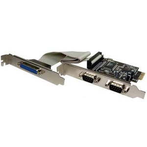 PCI-E 2 Serial 1 Parralel Card, Product Features:. PCI express 2 serial + 1 parallel port card; This interface speeds the frequency of data transfer and the high performance of PCI express bus. Supports PCI express 2.0, compatible with other PCI express interface; Driver supports Microsoft Windows 98SE/ DOS/ Linux/ XP/ 2003/ 2008/ 32/ 64 bit Vista/ Win7, Product Features:. PCI express 2 serial + 1 parallel port card; This interface speeds the frequency of data transfer and the high performance of PCI express bus. Supports PCI express 2.0, compatible with other PCI express interface; Driver supports Microsoft Windows 98SE/ DOS/ Linux/ XP/ 2003/ 2008/ 32/ 64 bit Vista/ Win7 , Satyam Film Kartmy