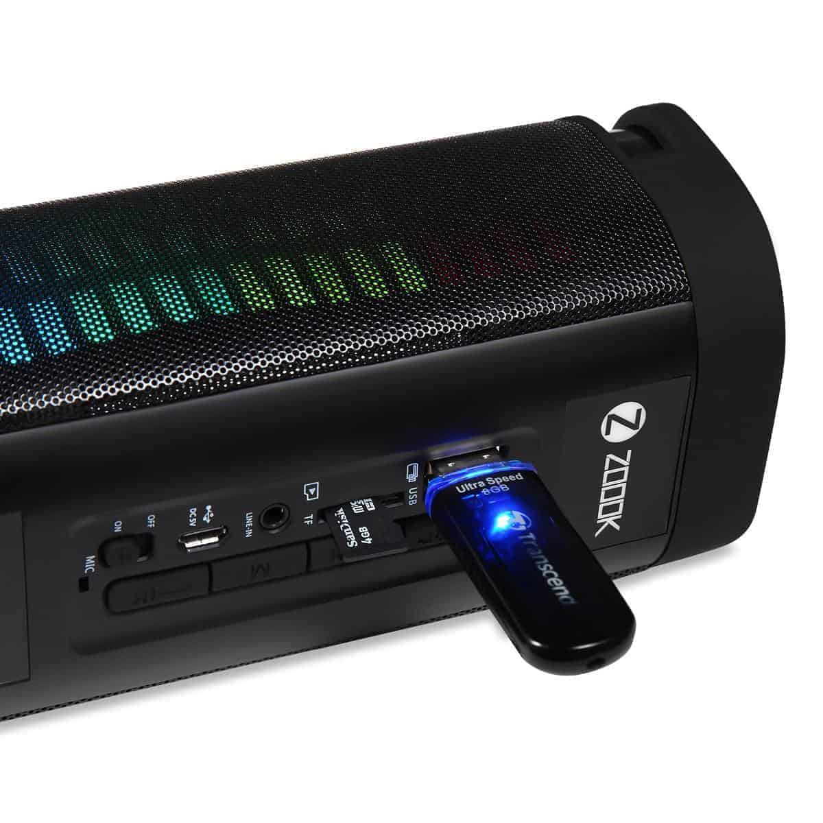Zoook LED BLUETOOTH SPEAKER ZB-JAZZ XL, Kartmy