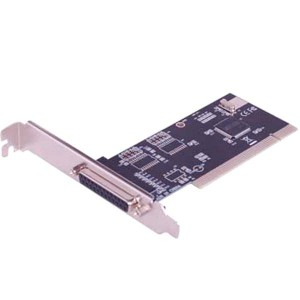 Enter - Add On Card, Pci to 1 Port Parallel Card ENTER E-1P SPP, PS2, EPP, ECP compatible IEEE 1284 printer port. ... DB25 parallel port connector x 1. ... PCI-E To 2 Serial ( RS -232 ) & 1 Parallel Port Card.Specification. PCI Specification Revision 2.1 compliant; SPP, PS2, EPP, ECP compatible IEEE 1284 printer port; Fast data rates up to 1.5 Mbytes/sec; Built in 16 Byte FIFO; DB25 parallel port connector x 1; Pin header parallel port connector x 1