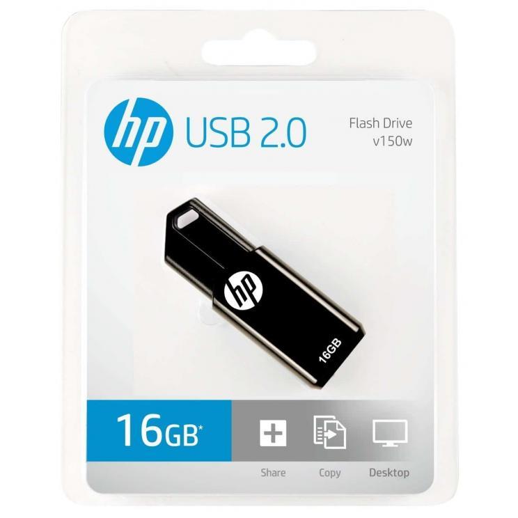 HP v150w 16GB USB 2.0 Pen Drive, Kartmy