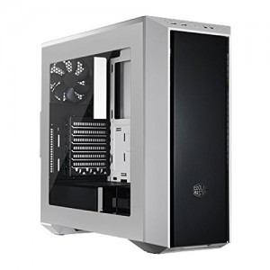 Gaming Cabinet, Video Mixing Editing Cabinet COOLER MASTER MASTERBOX 5 (ATX) Mid Tower Cabinet - With Transparent Side Panel (White) The MasterBox 5's design and smartly placed tray cut-outs make light work of installing or expanding multiple interior configurations. Remove, slide and , Buy Cooler Master MasterBox 5, Seamless Bezel, Window - White Cabinet online at low price in India ,