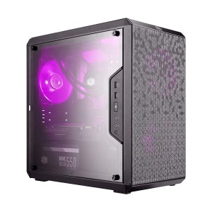 Cooler Master Masterbox Q300L, COOLER MASTER MASTERBOX Q300L (M-ATX) Mini Tower Cabinet - With Transparent Side Panel (Black) ... Special pattern on the dust filter creates a unique outlook for the chassis. ... Show off your build through the full size transparent side panel., Buy Cooler Master MasterBox Q300L Mini Tower Computer Case (MCB-Q300L-KANN-S00) at lowest price in india