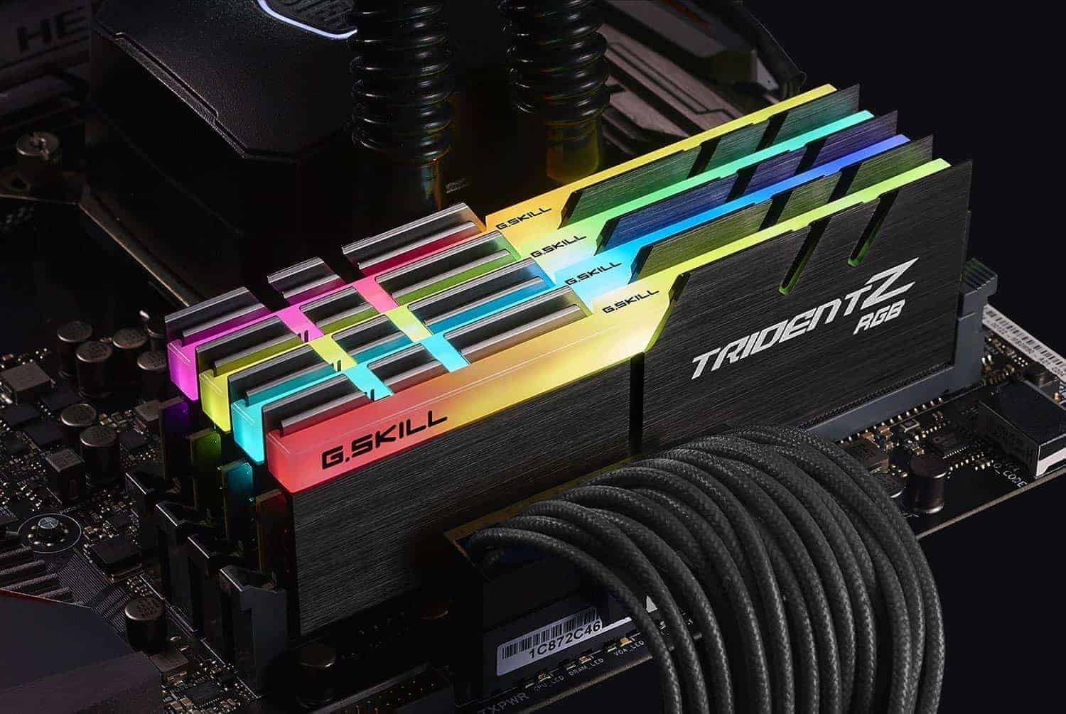 Gskill Tridentz Rgb Series 16gb 2 X 8gb 288 Pin Ddr4 4133mhz Pc4 F4 2400c15d 8gvr