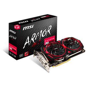 "Radeon™ RX 580 Graphics Cards Radeon RX 580 ARMOR MK2 8G OC ... First introduced in 2008 by MSI, ZeroFrozr technology has made its mark and is now ... Radeon™ RX 580 Graphics Cards Radeon RX 580 ARMOR 8G OC ... First introduced in 2008 by MSI, ZeroFrozr technology has made its mark and is now the ... Buy MSI Gaming Radeon RX 580 256-bit 8GB GDRR5 DirectX 12 VR Ready CFX ... Kartmy's Choice for ""msi radeon rx 580 directx 12 rx 580 armor mk2 8g oc ... HDMI 2 x HDMI, Multi-Monitor Support 4, DisplayPort 2 x DisplayPort, DVI 1 x ..."