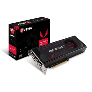 Radeon™ RX Vega Graphics is for extreme gamers looking to run their games at the highest resolutions, highest framerates, maximum settings, and who want ... Radeon RX Vega 56 Air Boost 8G OC ... Weight (Card / Package); Afterburner OC; DirectX Version Support; OpenGL Version Support; Multi-GPU Technology ... Buy MSI video card Radeon RX Vega 56 Air Boost 8G OC online at low price in India on Kartmy. Check out MSI video card Radeon RX Vega 56 Air Boost 8G ...
