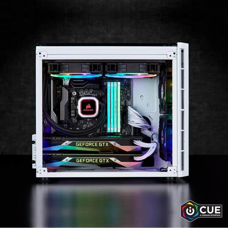 Buy Buy Corsair Cabinet Crystal 280x Rgb Black White