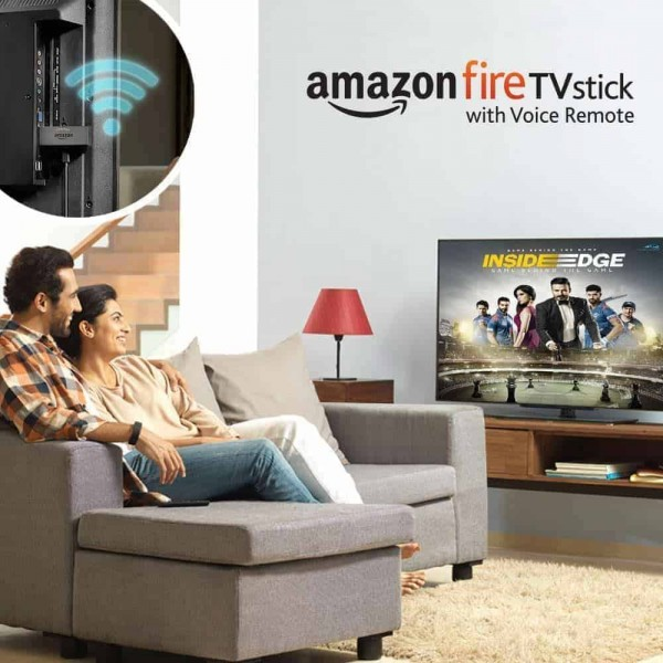 Amazon Fire TV Stick with Voice Remote | Streaming Media Player