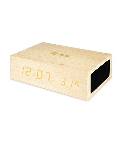 Zoook Bluetooth Speaker ZB-TIMEBLUE(Wooden Color)