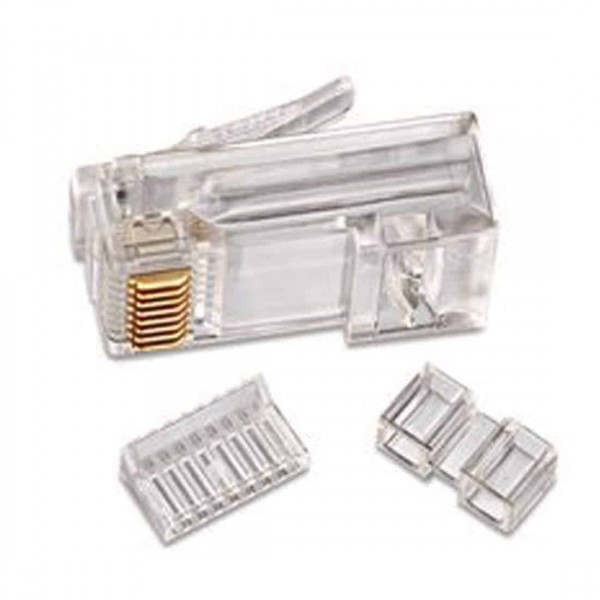 D-Link RJ 45 Cable Connector - Pack Of 100 Pieces