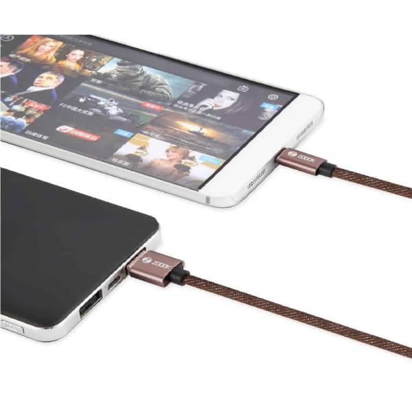 Zoook PREMIUM CHARGING CABLE ZF-DENIM