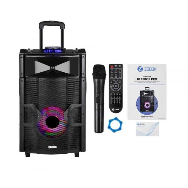 Zoook Bluetooth Speaker ZB-Rocker Beatbox Pro