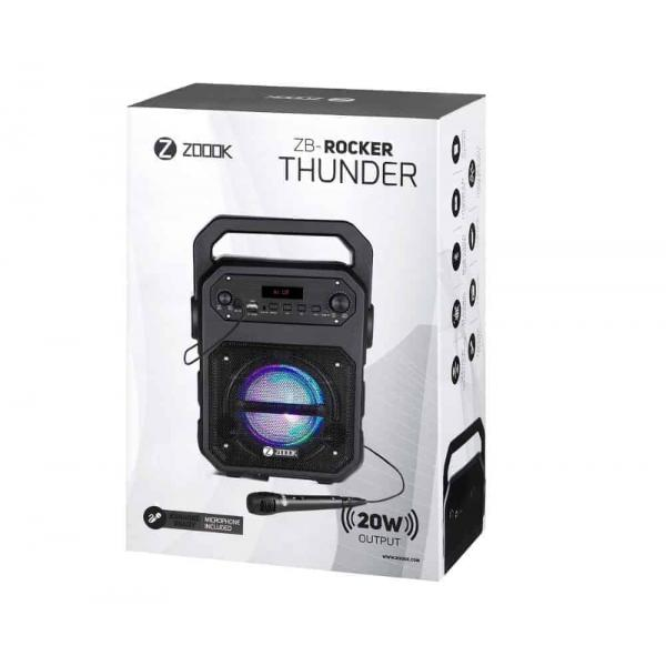 Zoook Bluetooth Speaker ZB-Rocker Thunder